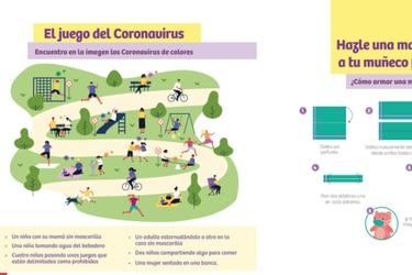 """Ministerio de Salud presenta """"Guía de autocuidado en niñas y niños"""" para prevenir el contagio de coronavirus en menores"""