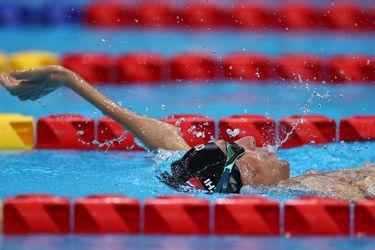 Alberto Abarza clasifica a la final de los 50 metros espalda e irá por una nueva medalla en Tokio