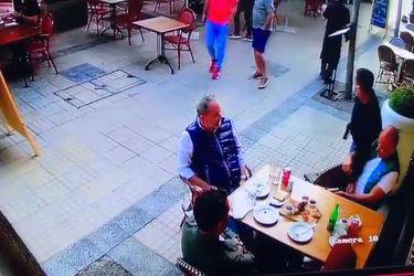 Cámaras de seguridad captan robo armado en restaurante de Las Condes
