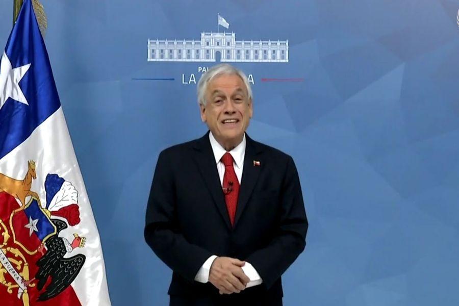 Piñera realiza llamado al optimismo ante señales de recuperación económica en medio de crisis del coronavirus