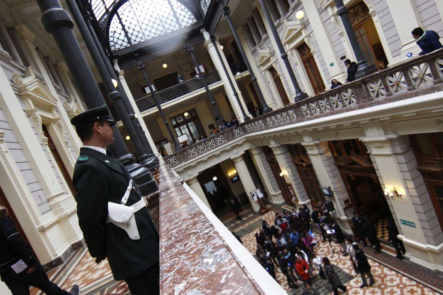 Palacio de Tribunales en el Día del Patrimonio Nacional