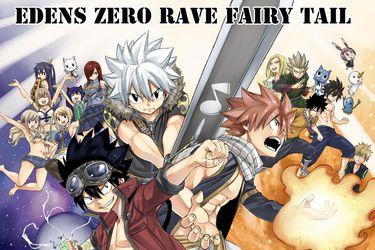 Rave Master, Fairy Tail y Eden's Zero tendrán manga crossover