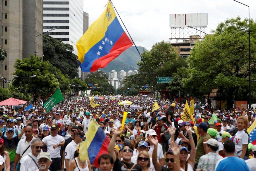 marcha venezuela si