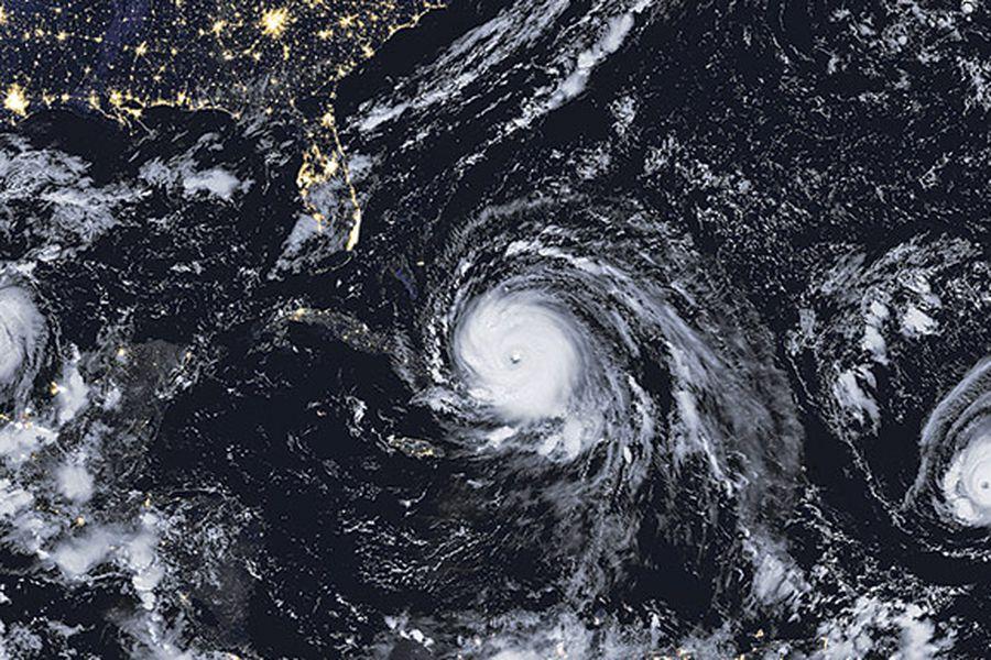 ¿Ha habido más huracanes este año? - La Tercera