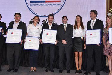 Sello Chile Inclusivo 2017 reconoció a instituciones y empresas en materia de inclusión