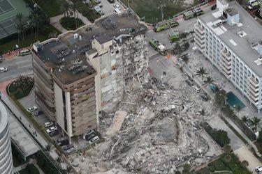 Las impactantes imágenes del edificio que colapsó en Miami
