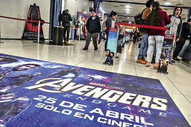 Avengers se acerca a los tres millones de espectadores y es el filme más visto de Chile