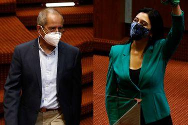 Marcela Sandoval (RD) y Rubén Moraga (PC) juran ante la Cámara y asumen sus funciones como nuevos diputados de la República