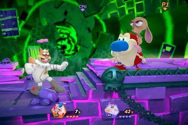 Ren & Stimpy se suman a  Nickelodeon All-Star Brawl