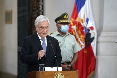 Presidente Piñera anuncia extensión del pago del Ingreso Familiar de Emergencia y bono Covid