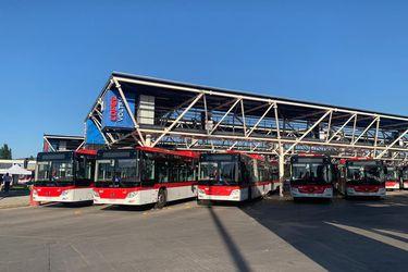 Inauguran en Maipú el electroterminal de buses más grande de Sudamérica