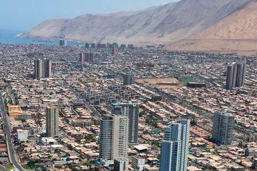 sobrevuelo en Iquique