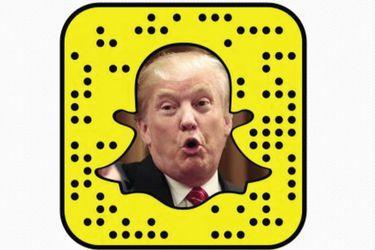 Snapchat dejará de promocionar la cuenta de Donald Trump