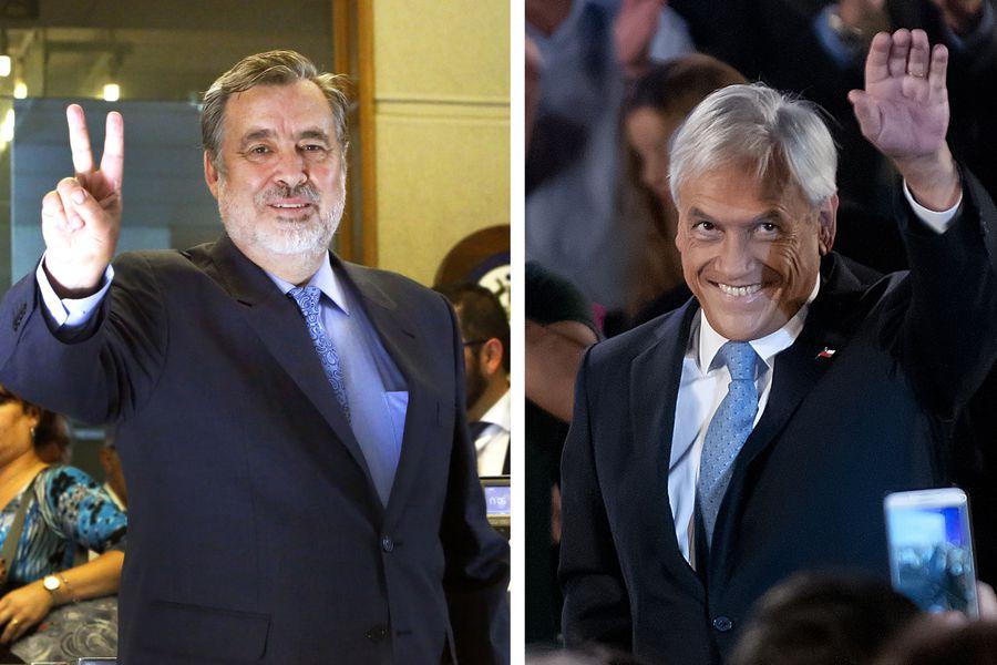 Guillier le gana a Piñera en segunda vuelta, segun encuesta  Cerc-Mori.