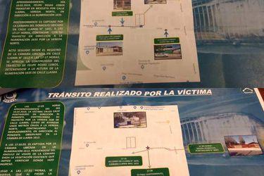 Las imágenes que delataron al presunto asesino de Fernanda Maciel