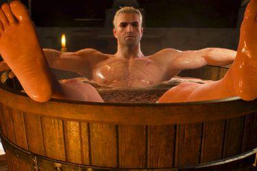 La serie de The Witcher tendrá referencia a la escena de la bañera del videojuego