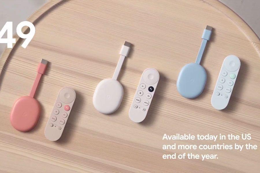 El nuevo Chromecast tendrá control remoto para acceder a la nueva plataforma de Google TV - La Tercera