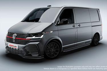 Volkswagen Transporter Sportline: para un reparto de última milla rápido en serio