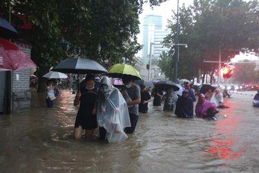 Cerca de 200.000 personas evacuadas por las inundaciones en el centro de China