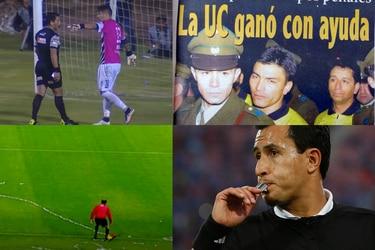 De Gamboa a Chandía: otras decisiones arbitrales que incendiaron el fútbol chileno