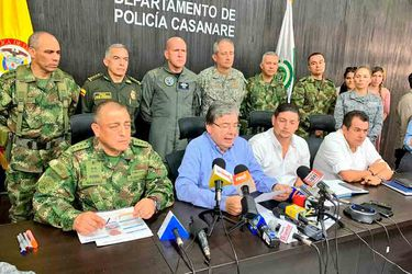Indagan posible autoría del ELN en ataque con explosivos contra base militar aérea en Colombia