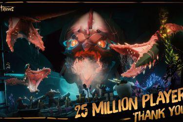 Sea of Thieves ha superado los 25 millones de jugadores