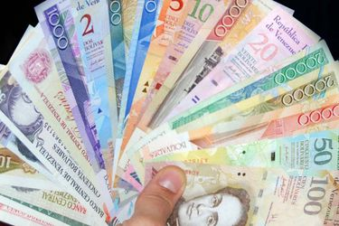 venezuela billetes bolivares