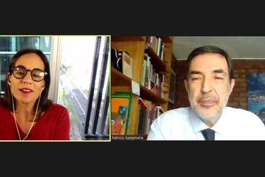 "Patricio Santamaría en Diálogos de ReConstitución: ""Jamás me imaginé que antes de terminar mi periodo íbamos a estar en un evento como éste"""