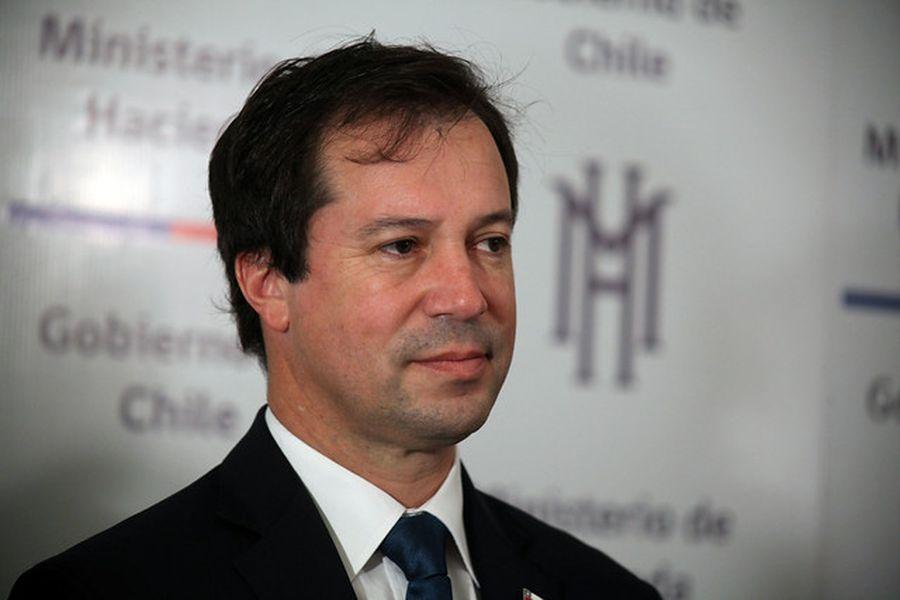 Lucas Palacios, ministro de Economía