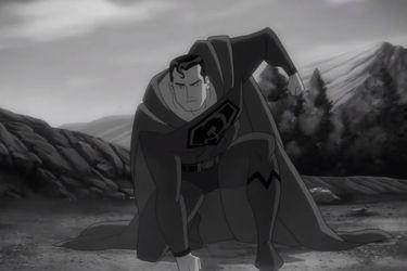 Superman muestra sus poderes en este clip de la película de Hijo Rojo