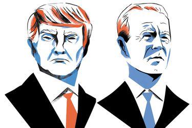 Las distintas posturas  de Trump y Biden en temas importantes