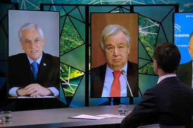 """Piñera participa en Cumbre de Adaptación Climática: """"Algunas personas se muestran escépticas sobre el cambio climático, pero la evidencia científica es abrumadora"""""""