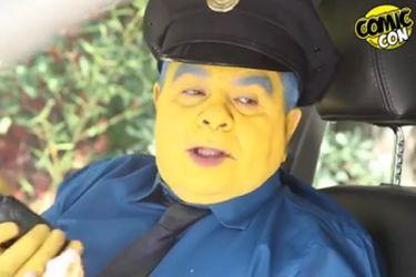Aldo Schiappacasse se transforma en el Jefe Górgory en spot de la Comic Con