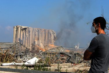 """""""Similar a un terremoto"""": Imagen de satélite de la Nasa muestra la amplia zona de devastación en Beirut"""