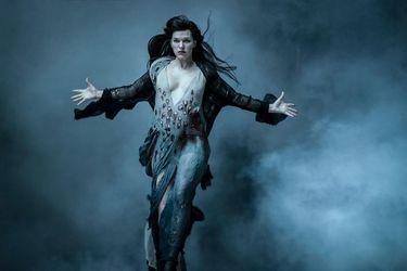 Milla Jovovich habló de su rol como villana en el reinicio de Hellboy