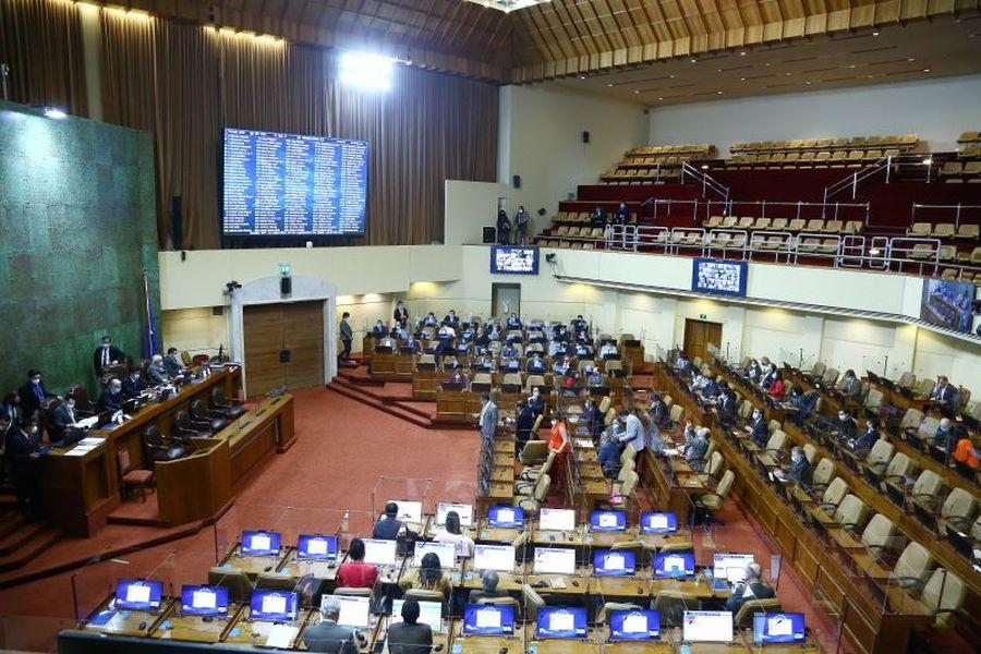 Sala de la Cámara de Diputados. Foto: Cámara de Diputados.