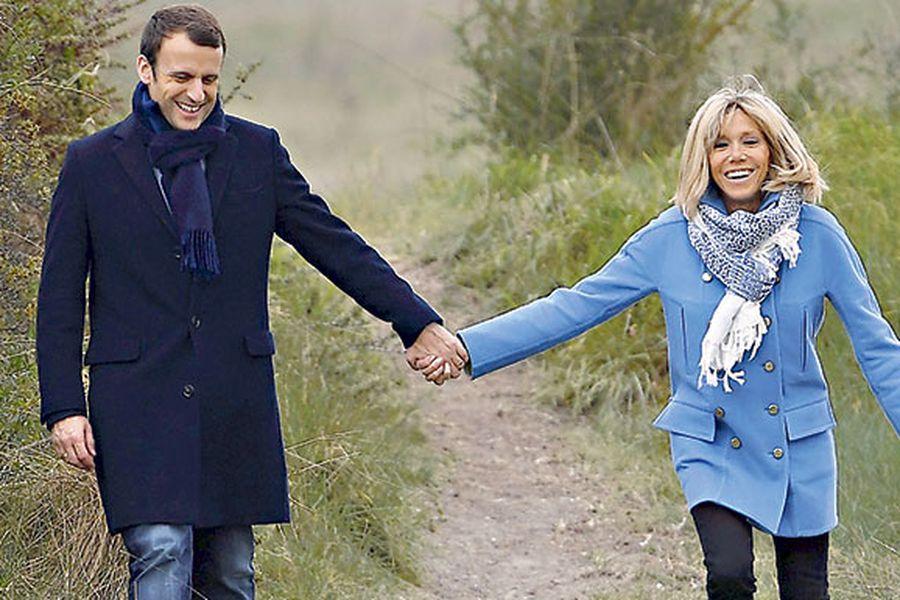 La Historia De Amor De Macron Y Su Profesora De Frances La Tercera