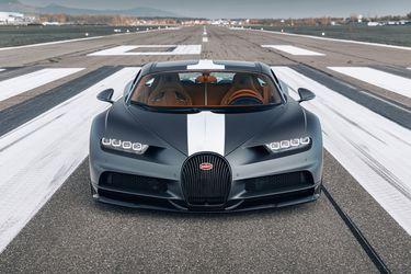 Chiron Sport 'Les Légendes du Ciel', un último homenaje de Bugatti a las viejas glorias del aire