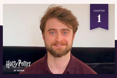 Harry Potter en casa: Daniel Radcliffe lee el primer capítulo de La piedra filosofal