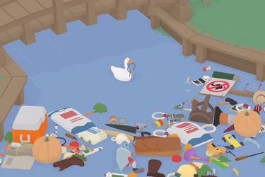 El ganso de Untitled Goose Game ahora puede destrozar tu escritorio