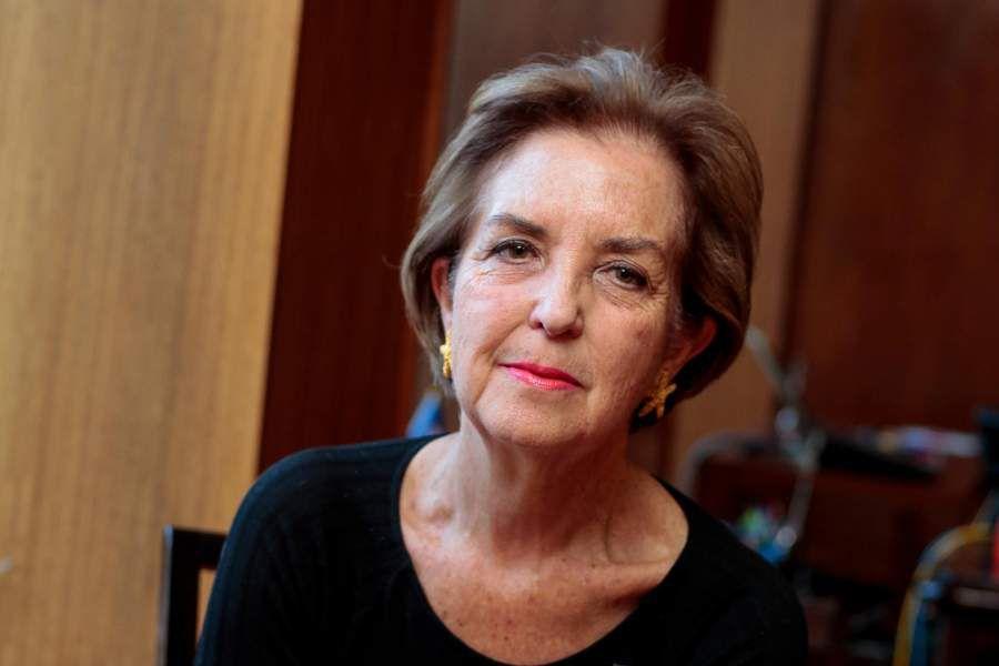 La ministra de Transportes, Gloria Hutt. Foto: Juan Farías.