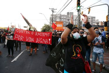 """ONU condena el """"racismo estructural en Brasil tras el asesinato de un hombre en Porto Alegre"""
