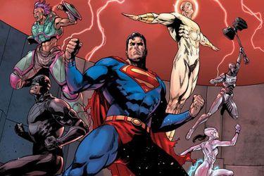 Action Comics fue postergada debido a los problemas de suministro de papel