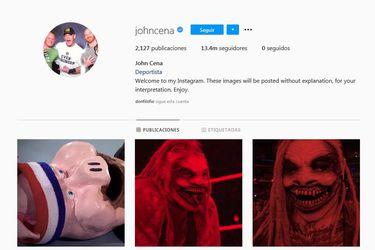 Bray Wyatt no solo derrotó a John Cena, también se apoderó de su cuenta de Instagram