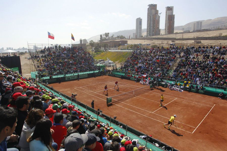 TENIS CHILE COLOMBIA