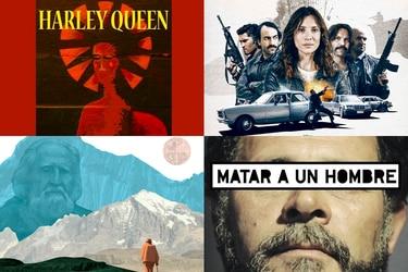 De Harley Queen a Matar a Pinochet: las películas que llegan a Ondamedia en abril