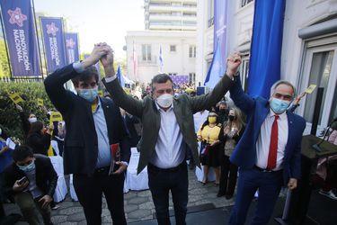"""Sichel y RN realizan acto público reafirmando trabajo conjunto de cara a las elecciones: """"No nos preocupemos de la política farándula y pongamos a las personas en el centro"""""""