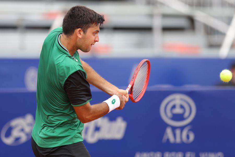 Tomás Barrios avanzó a la final del Challenger de Amaty 2 de Kazajistán.