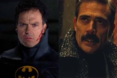 """Jeffrey Dean Morgan bromeó sobre la película de The Flash: """"Michael Keaton entró y tomó mi trabajo"""""""