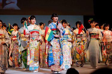 Conozcan a los kimonos inspirados en distintos países y que no pudieron aparecer en el inicio de Tokio 2020